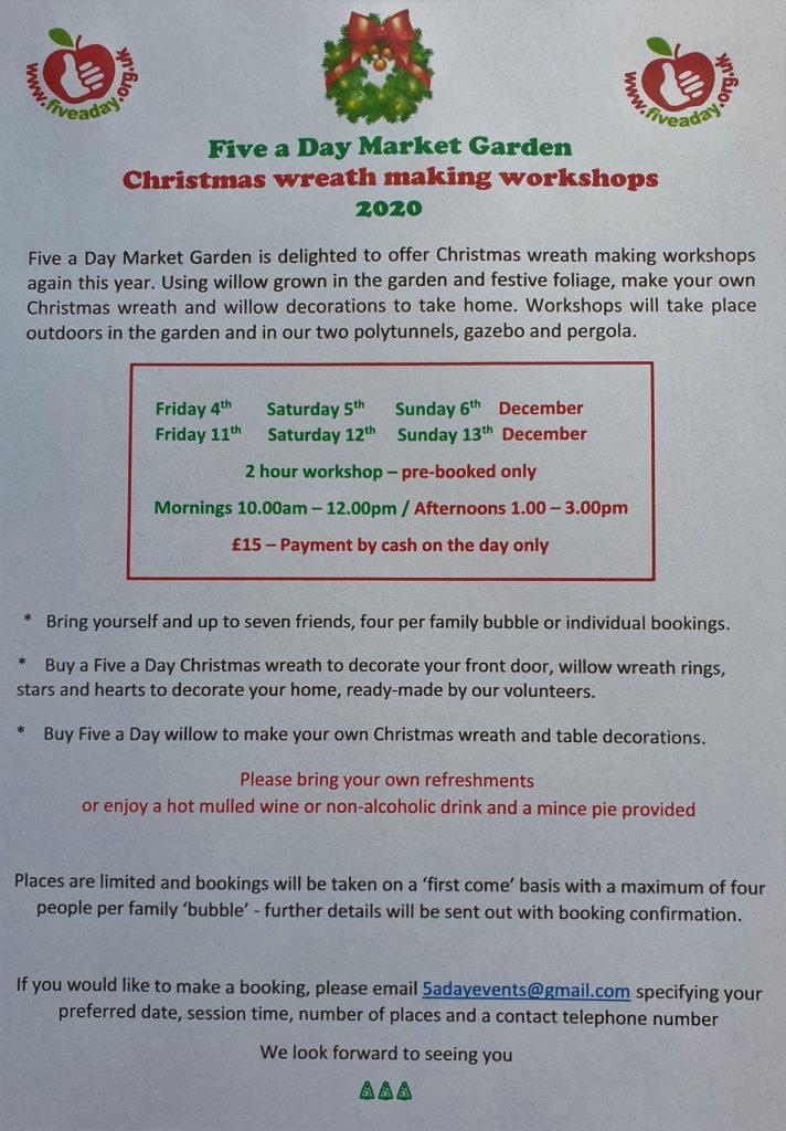 Christmas Wreath-making Workshops